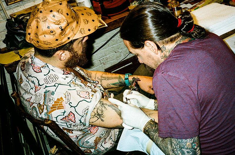 TheGoodLife! x Sailor Jerry Present: Steen Jones & Oliver Peck at The Cardinal NYC