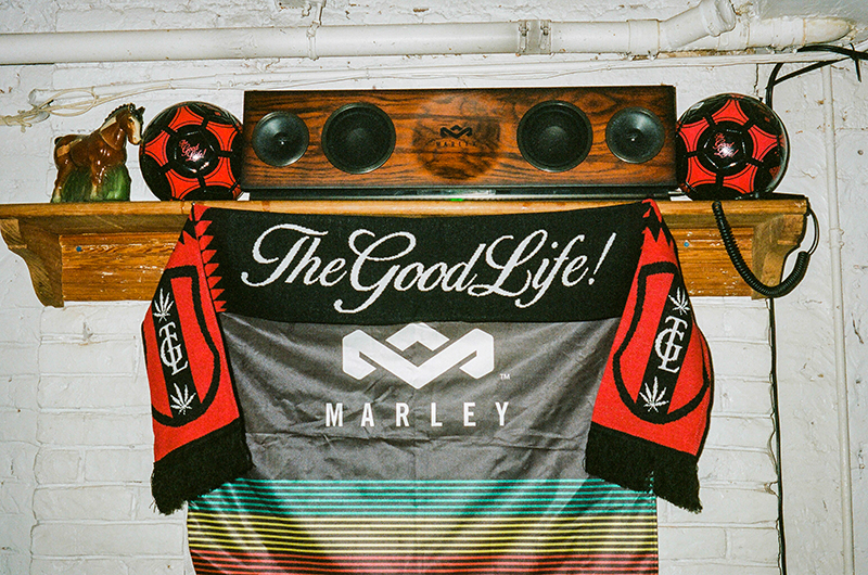 TheGoodLife! FC x House of Marley World Cup Clubhouse