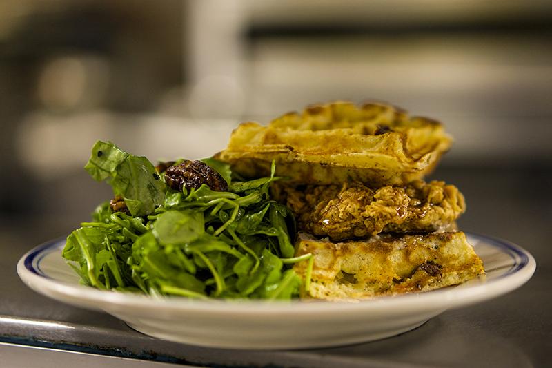 TheGoodLife! x Sweet Chick Chicken n Waffle Sandwich!