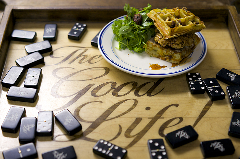 TheGoodLife! x Sweet Chick Chicken n Waffle Sandwich!