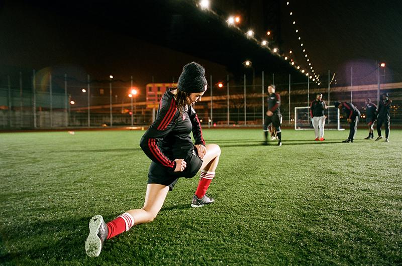 adidasNYC x TheGoodLifeFC! | Nina