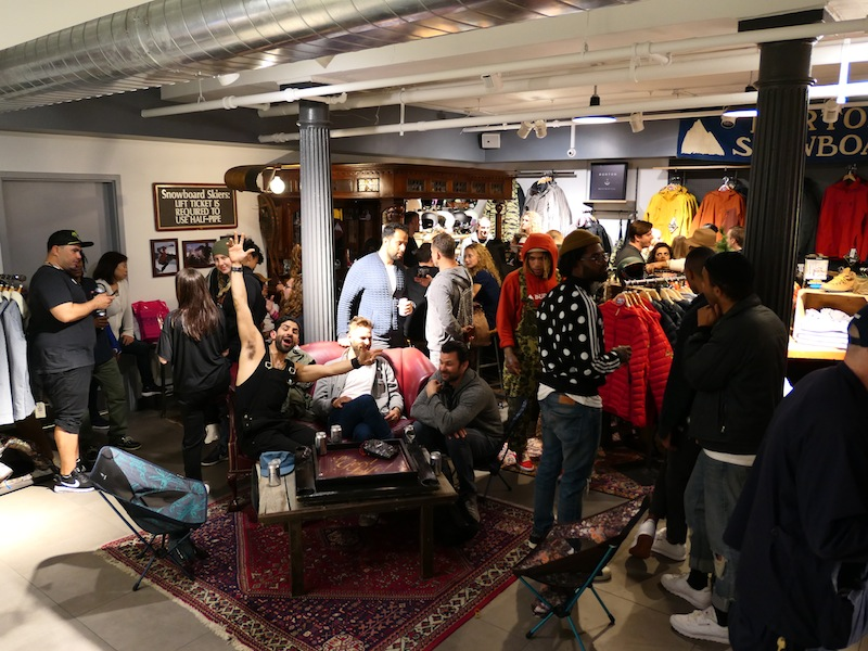 TGL x Burton Fam Shopping Night