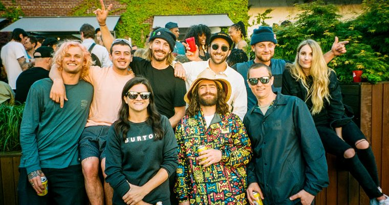THEGOODLIFE! PRESENTS: BURTON SNOWBOARDS APRÈS IN MAY 2019