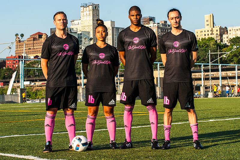 TheGoodLife! FC x FANATIC 2016 Kits