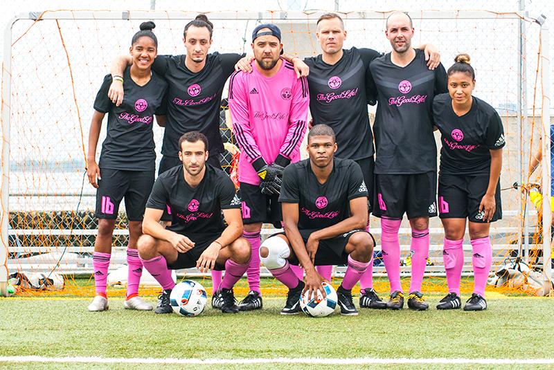 TheGoodLife! FC at adidas FANATIC '16 NYC