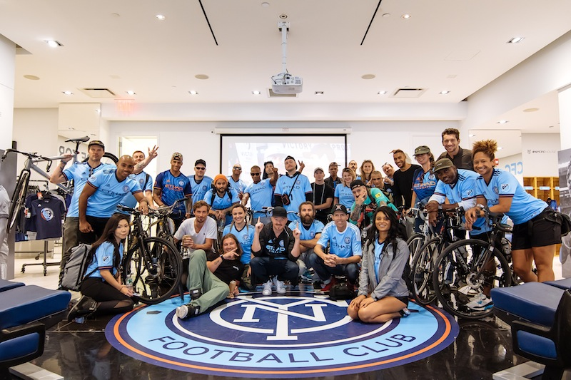TheGoodLife! FC x NYCFC x Shimano Bike NYC: Roll to the Bronx!