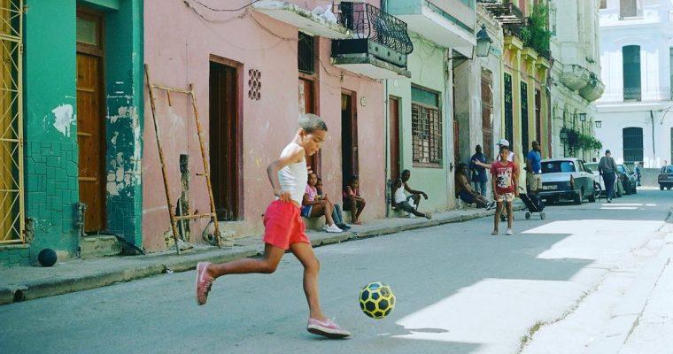 Fútbol en la Habana