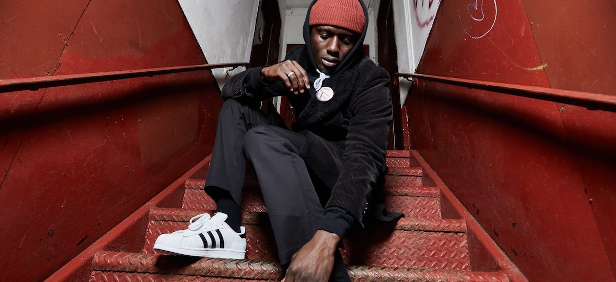 THEGOODLIFE! X ADIDAS NYC X PAT'S PANTS #HOMETEAM: CHEICK NDIAYE