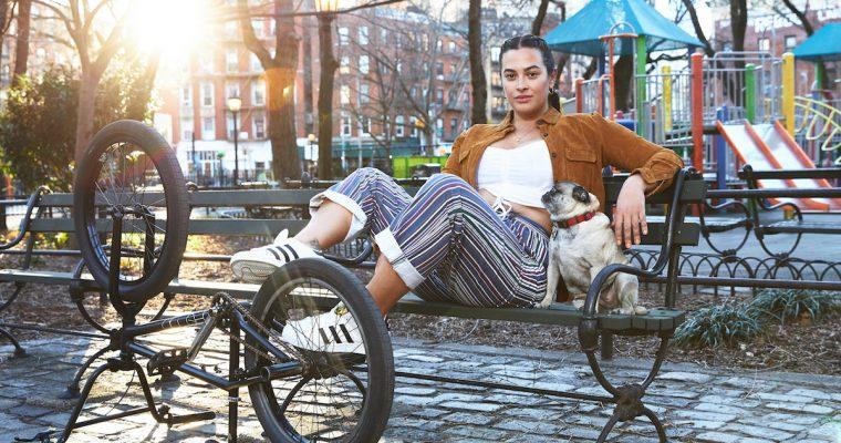 THEGOODLIFE! X ADIDAS NYC X PAT'S PANTS #HOMETEAM: CHRISTINA ANDREW